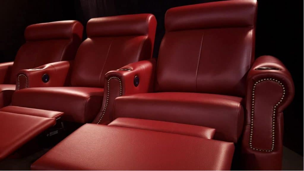 EHTS Red Transitional Theatre Chair ideas