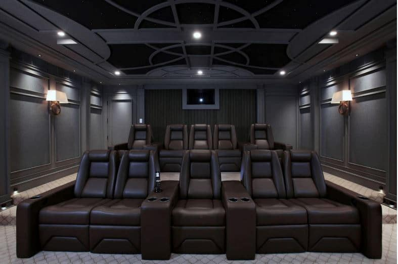 EHTS Theatre Chair-Custom Theatre Layout