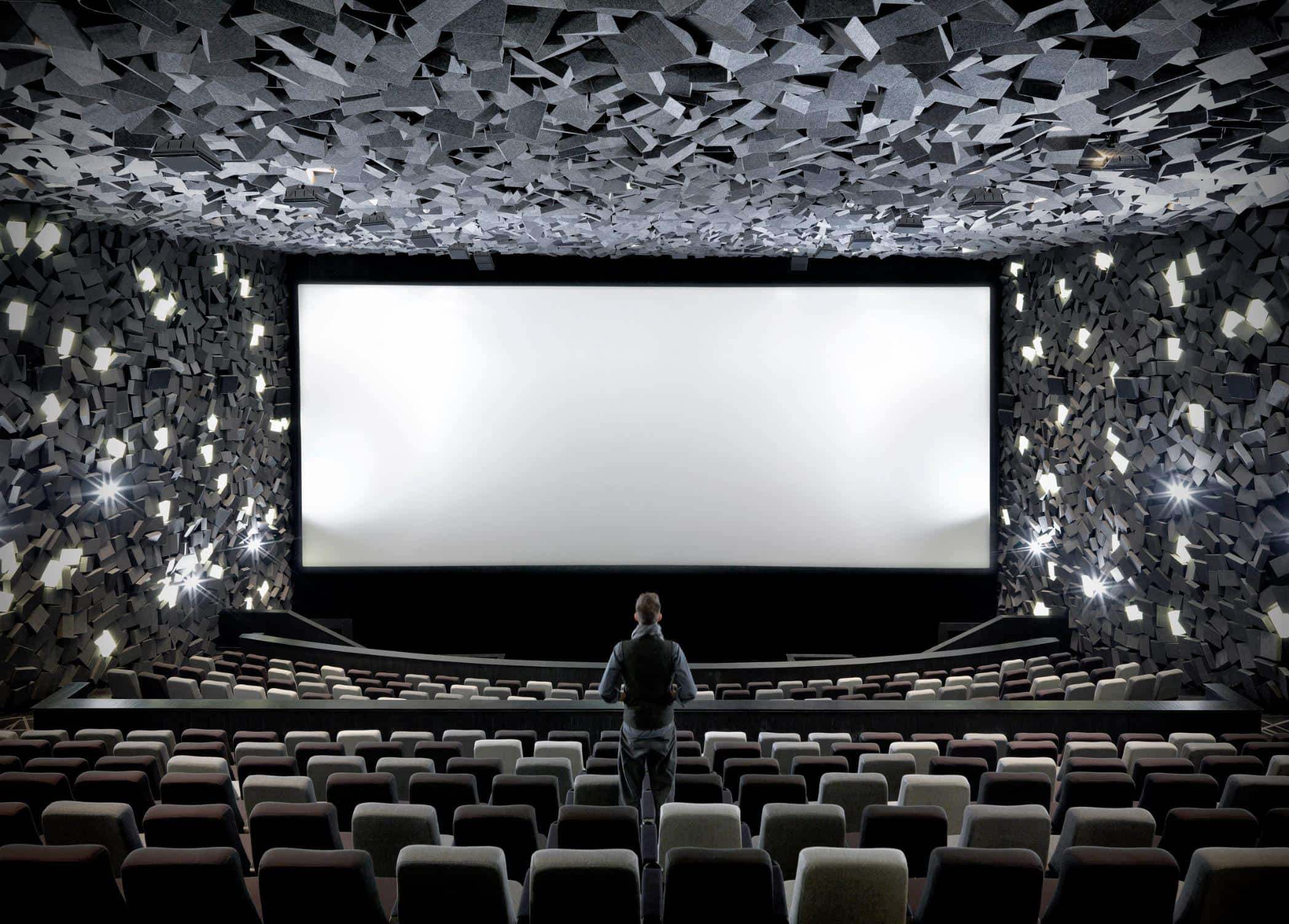 Theatre Room with Screen