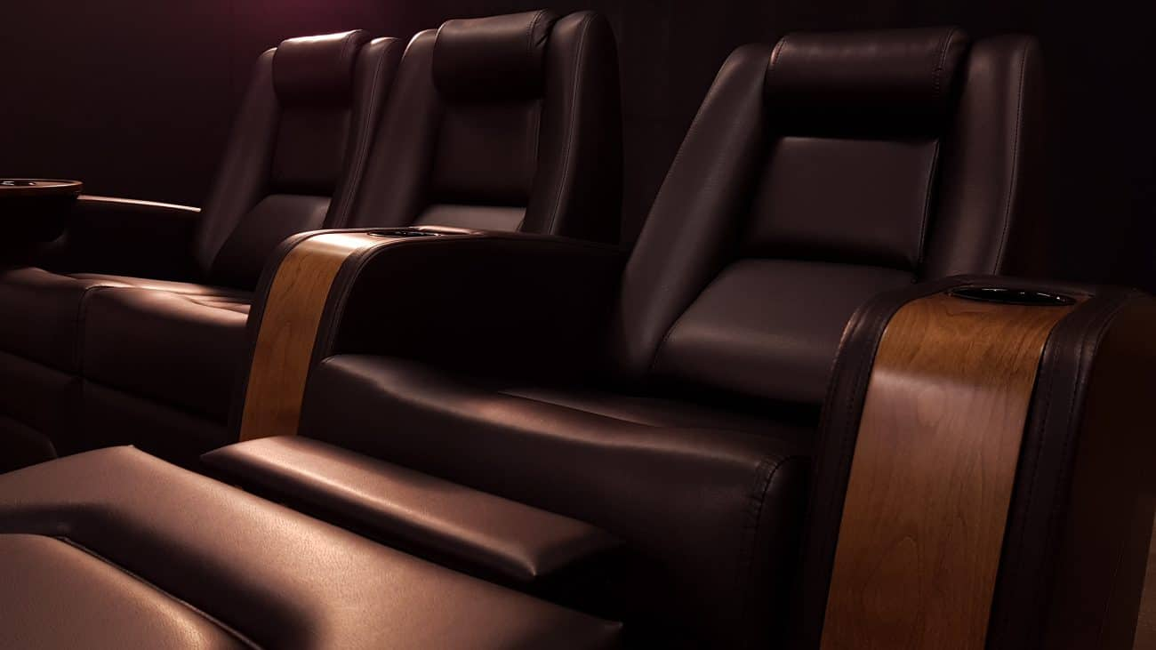 Black Theatre Chairs