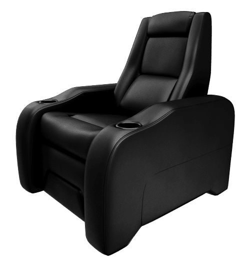 Black Theatre Chair