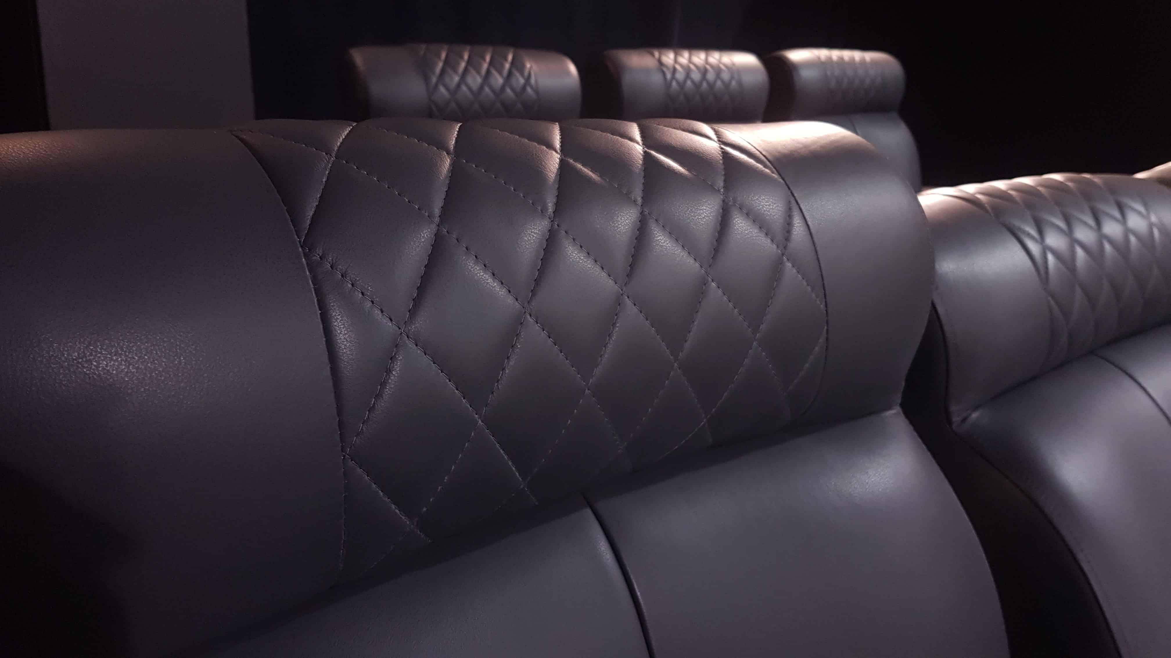 Charcoal Leather 9 back with quilted headrest e1543351467515