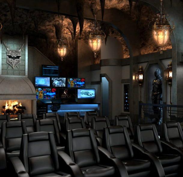 Batcave Theatre Room
