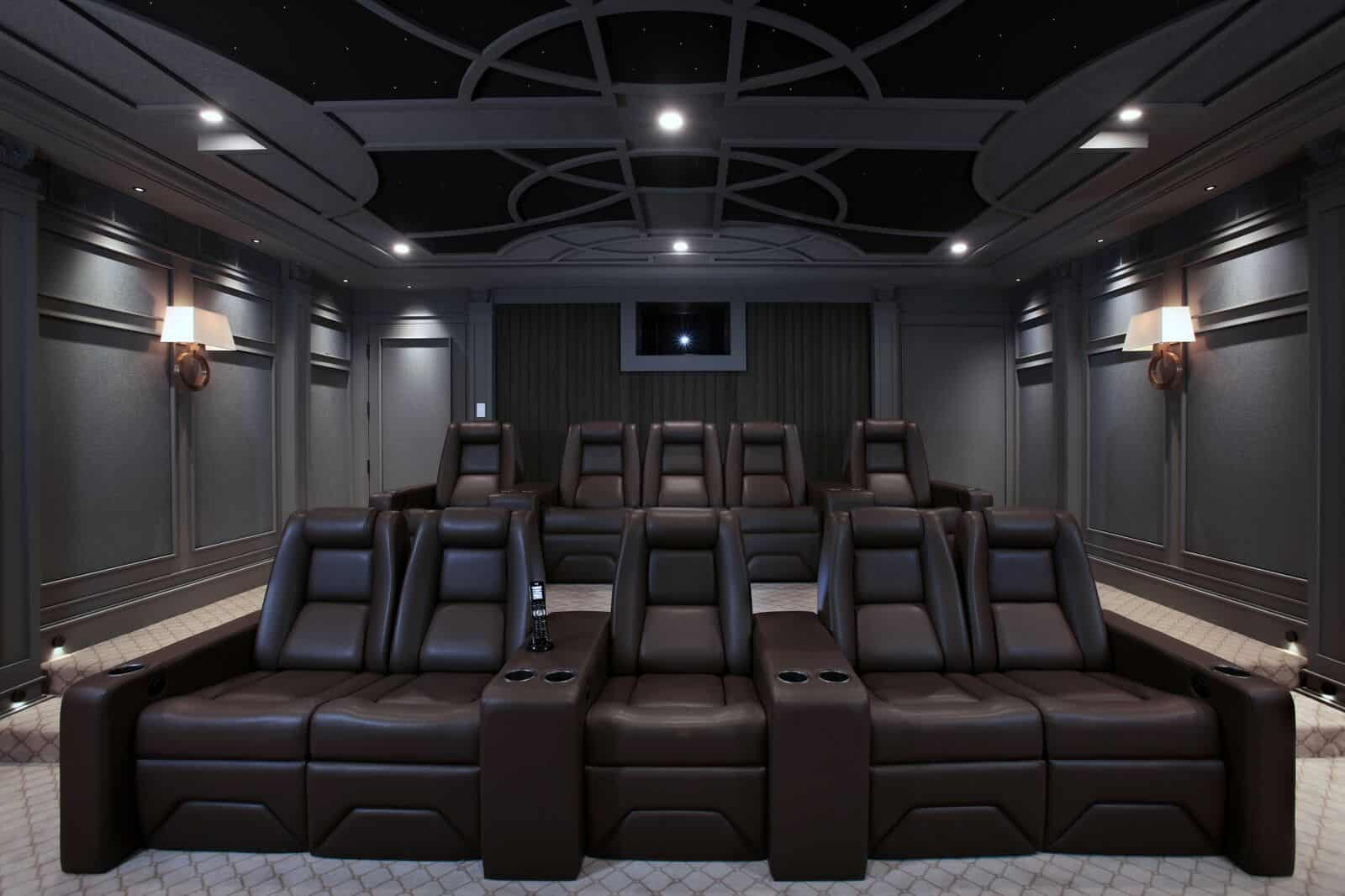 The Diamond Standard In Home Theater Seating