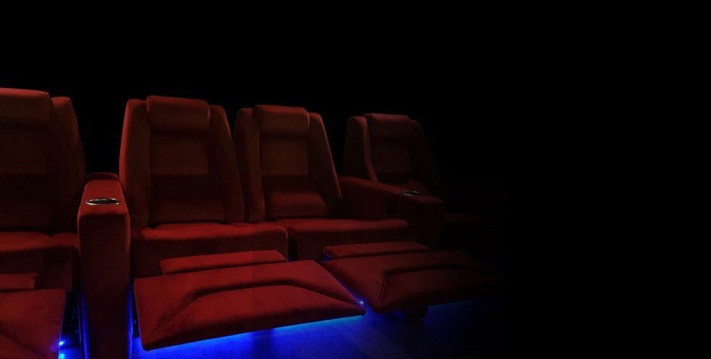 Theatre Chairs with Underglow Lighting