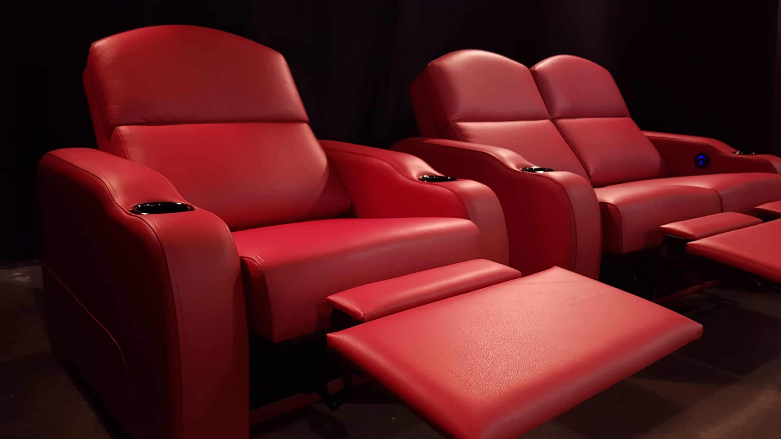 Red Theatre Chairs