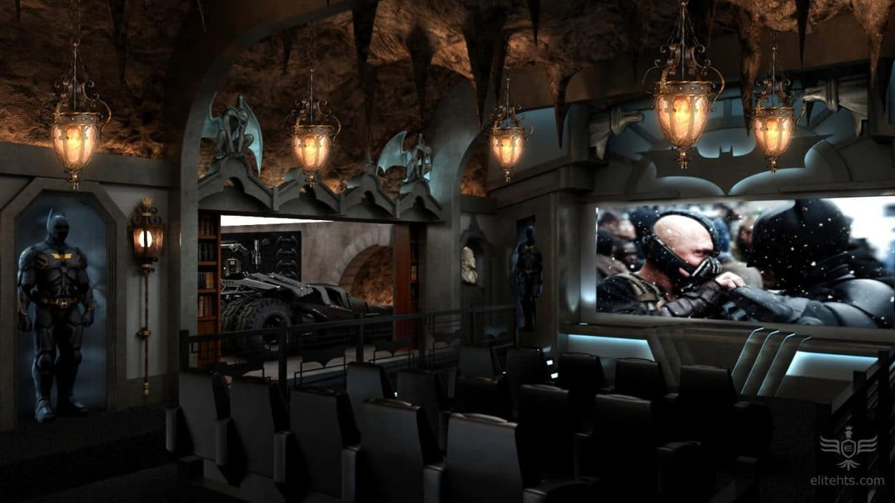 The Batcave Elite Extreme Home Theater Elite Hts