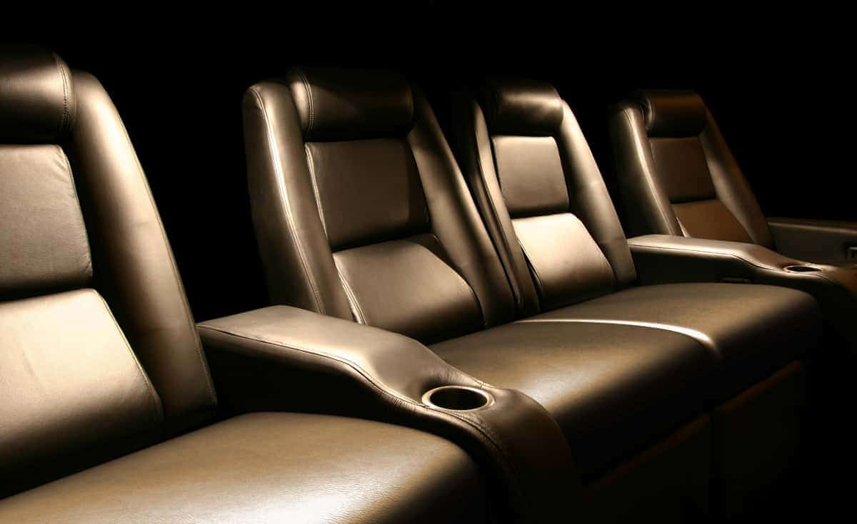 Cinema series, series, cinema, black leather, custom