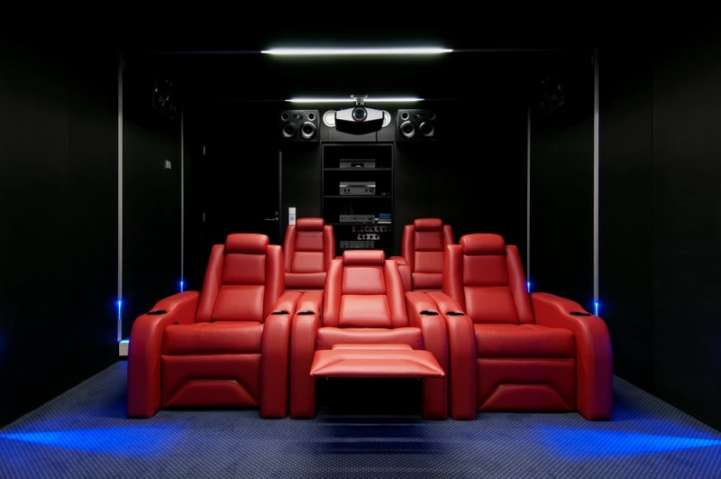 Home Theater Seating - Elite HTS Luxury Home Theater Chairs