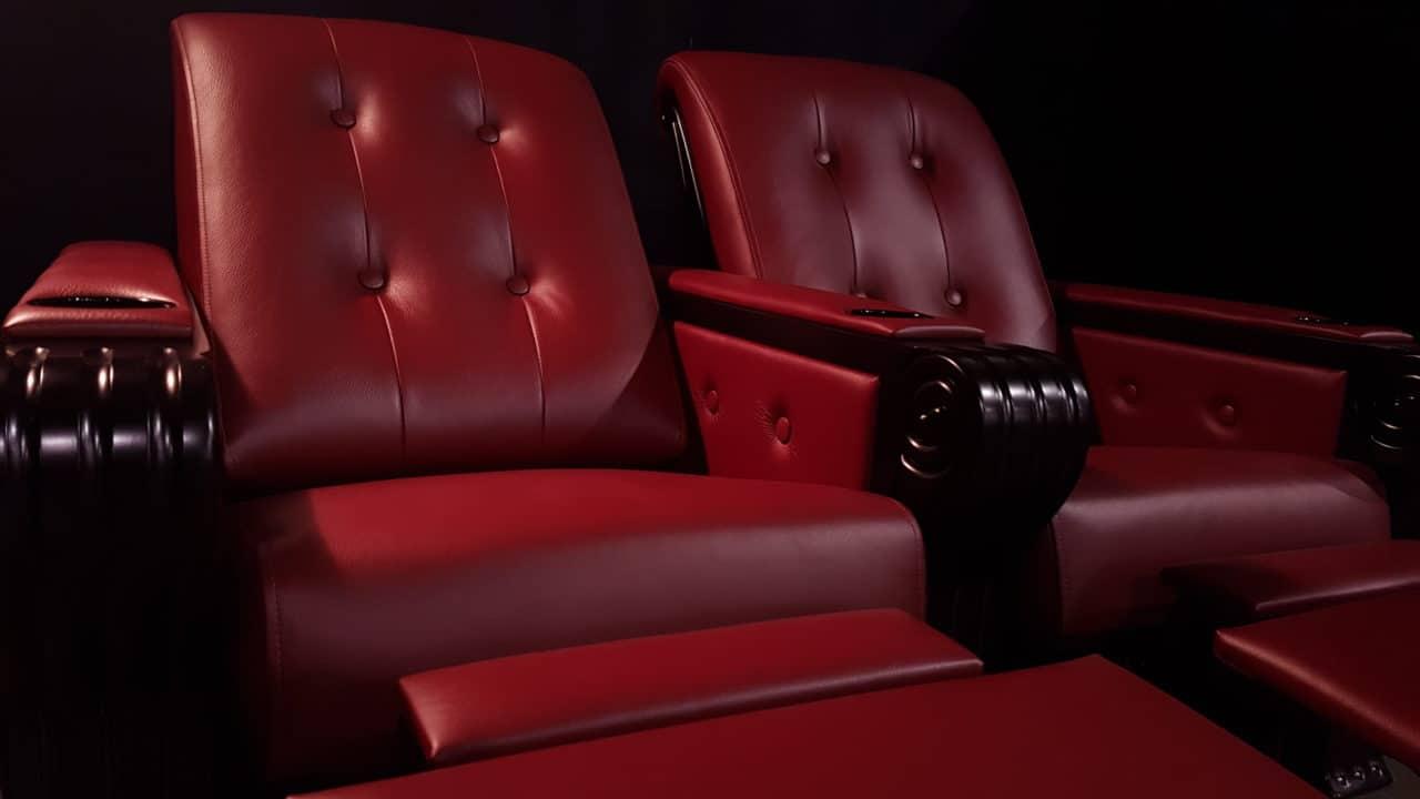 S9 Piano Black in Bordeaux Cinesuede