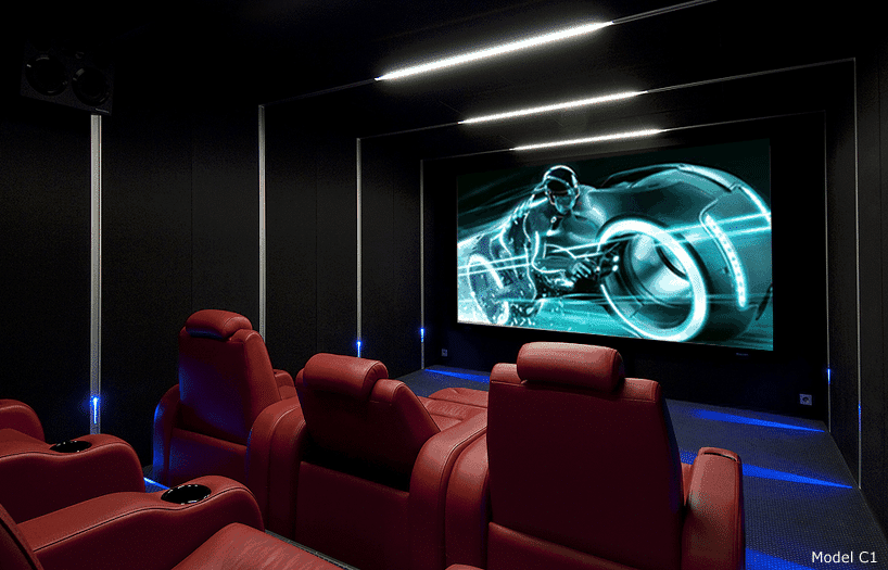 Elite Home Theater Seating takes your home theater chairs to a whole new level. Working closely with our clients, we create seating that accentuates your movie theaters to truly immersive experiences. Pushing custom chair designs to the limit, we at Elite turn your movie theater experience into anything from your wildest dreams.