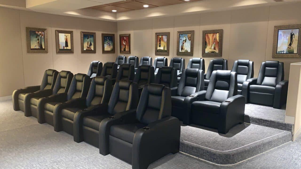 C1M Cinema Series Elite Home Theater Chairs