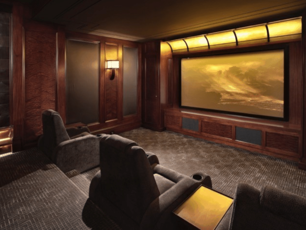 best color for home theater