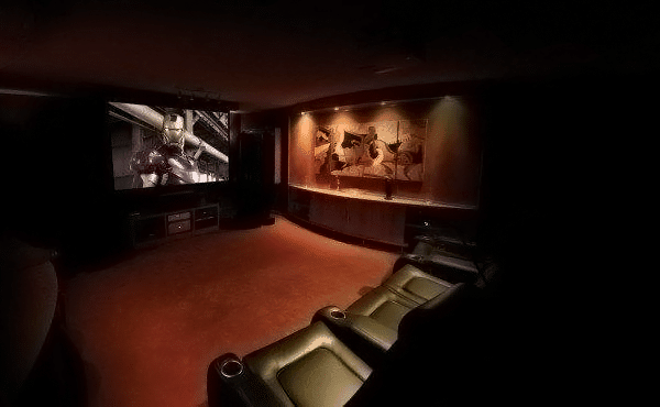 Atmospheric home theater