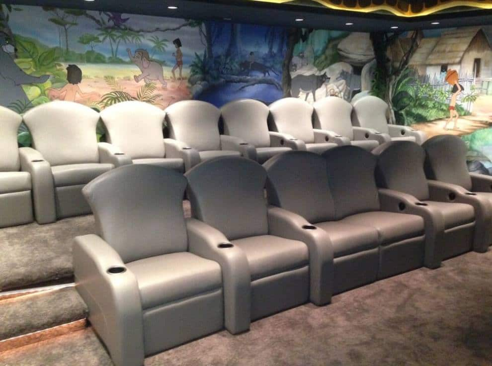Build kid friendly home theaters