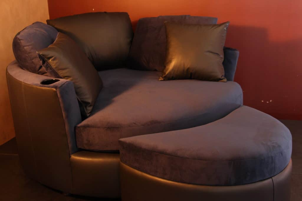 cuddle couch appearing at CEDIA Denver