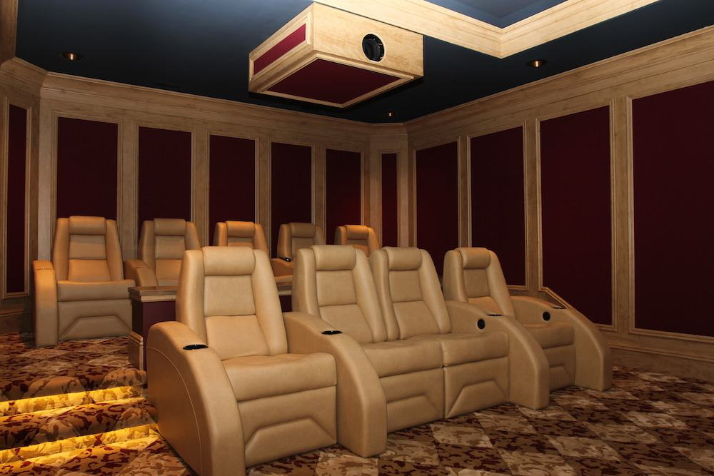 Laws of sound in home theater design