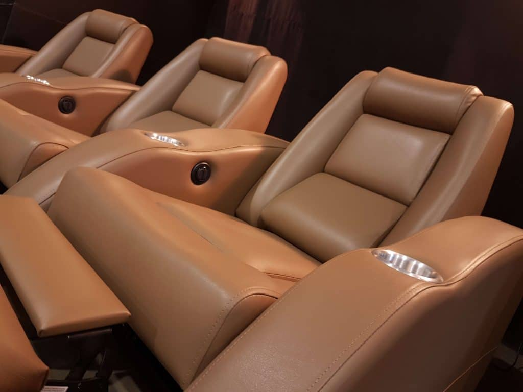 home theater seats hazelnut b1