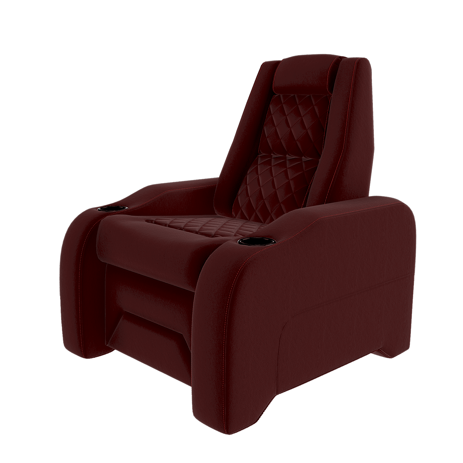 home theater seats red c1