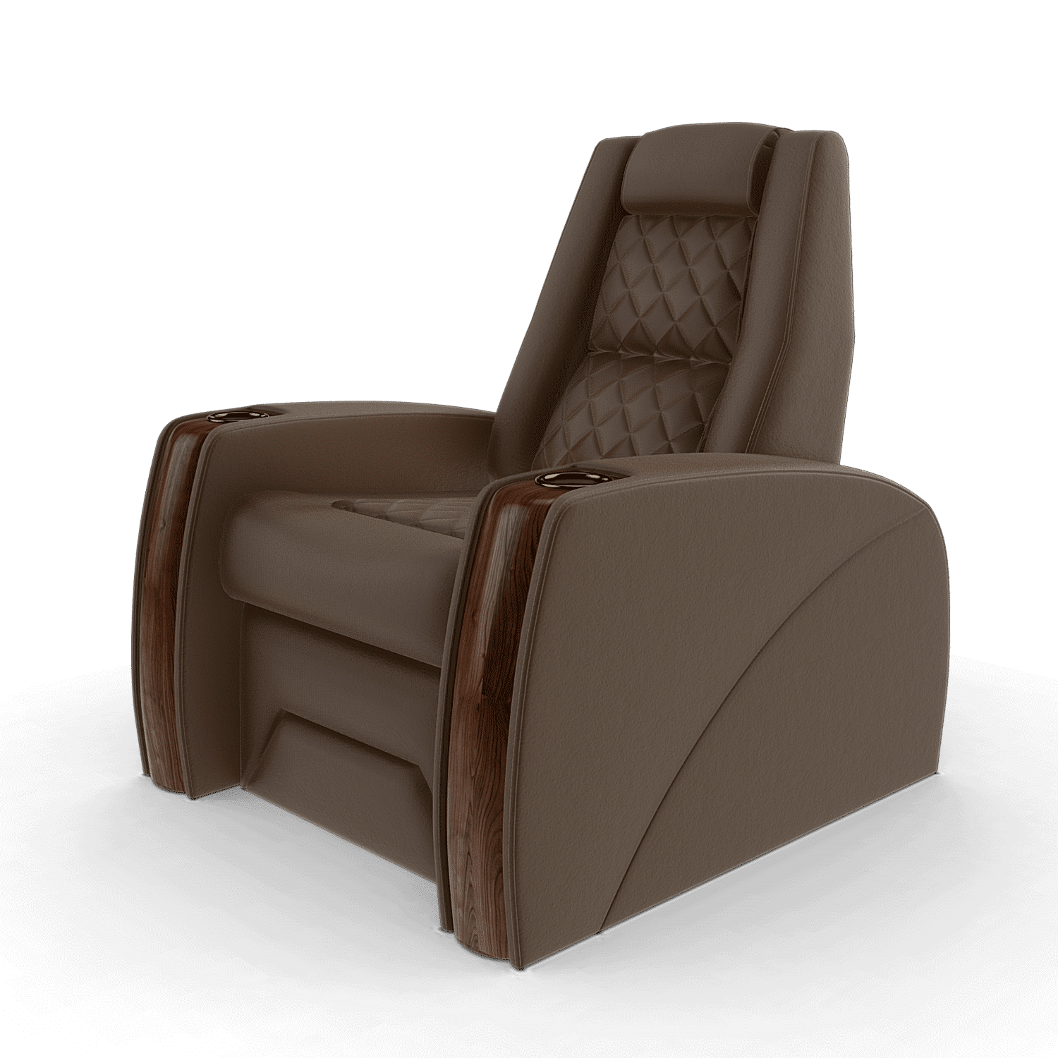 home cinema chairs brown j1