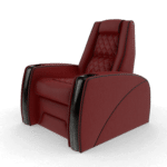 red home theater chairs j1