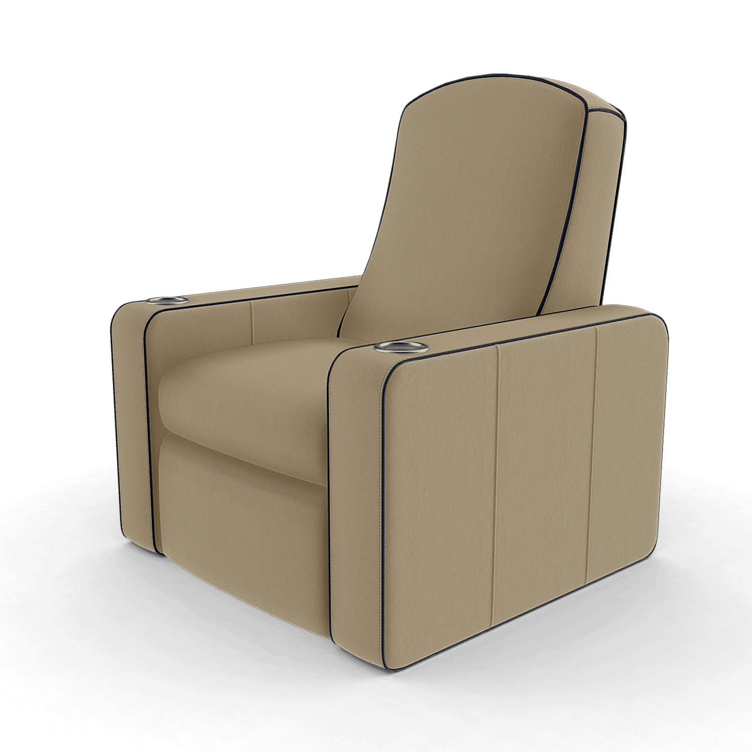 Home cinema chairs n5 cream