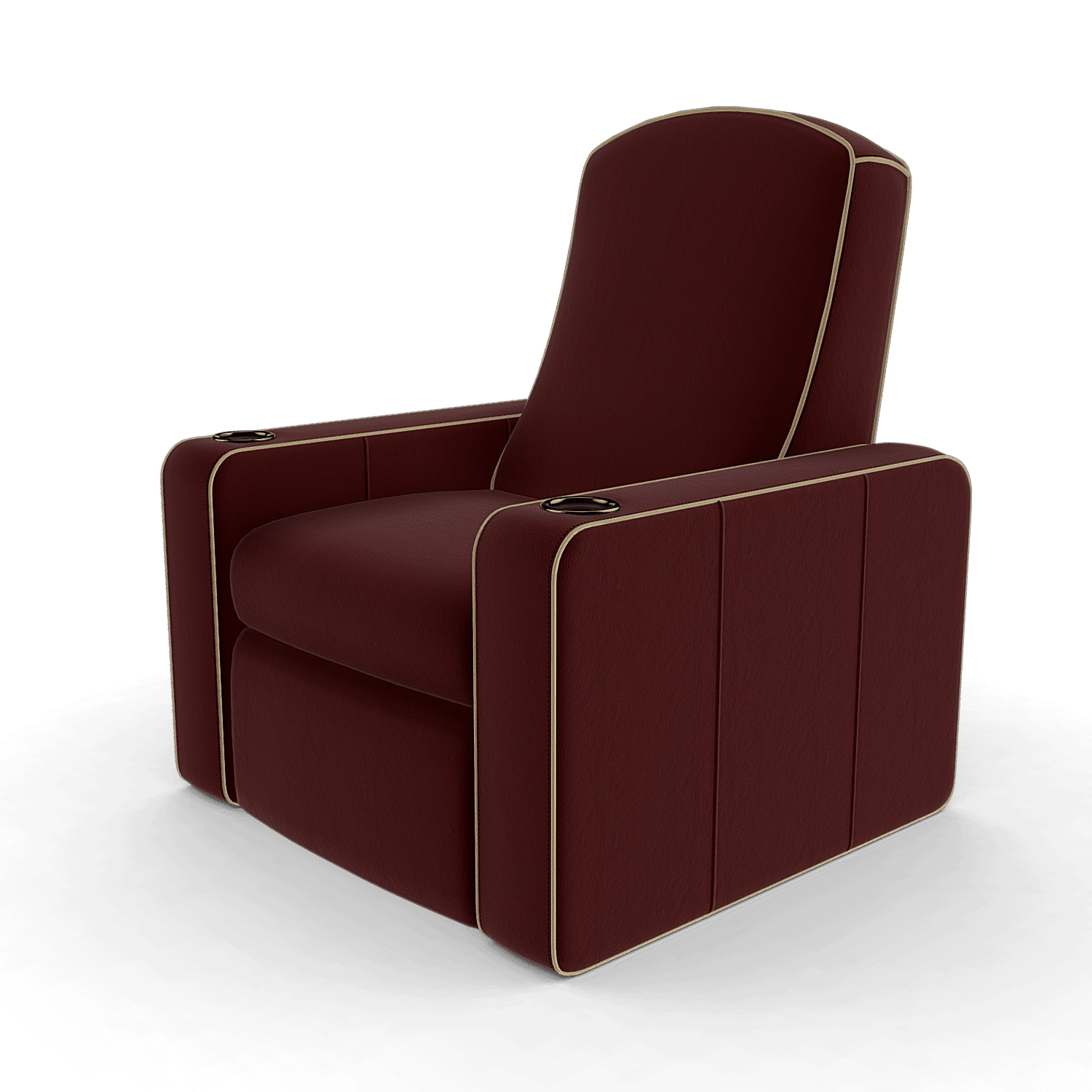 Home cinema seats n5 red