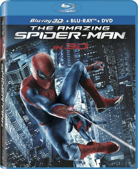 Amazing Spiderman Blueray