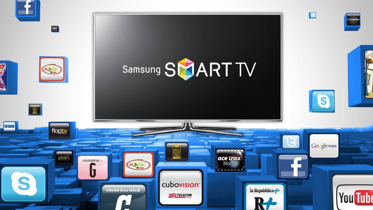 home theater with samsung-smart-tv-evoluzione4 image