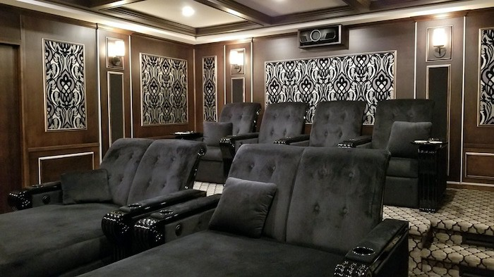 twenties custom home theater