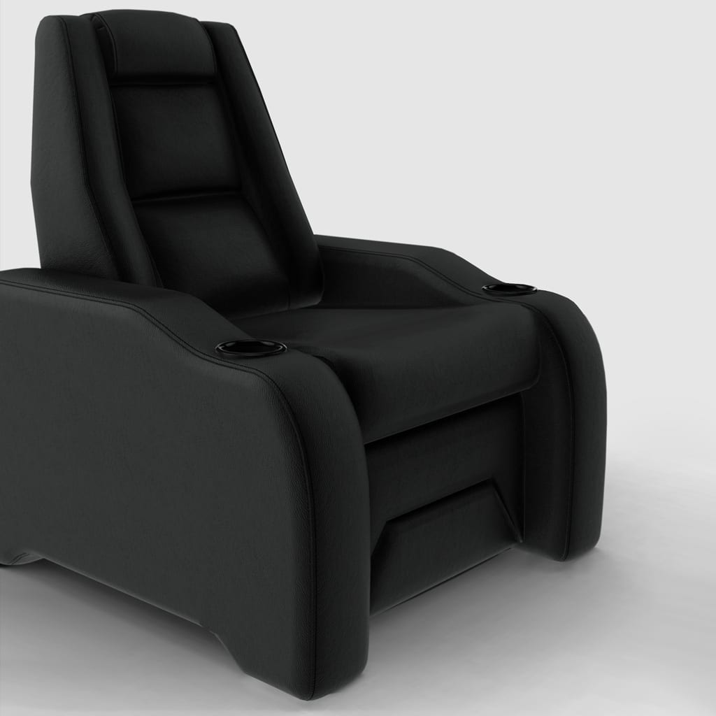 Home theater chair black image