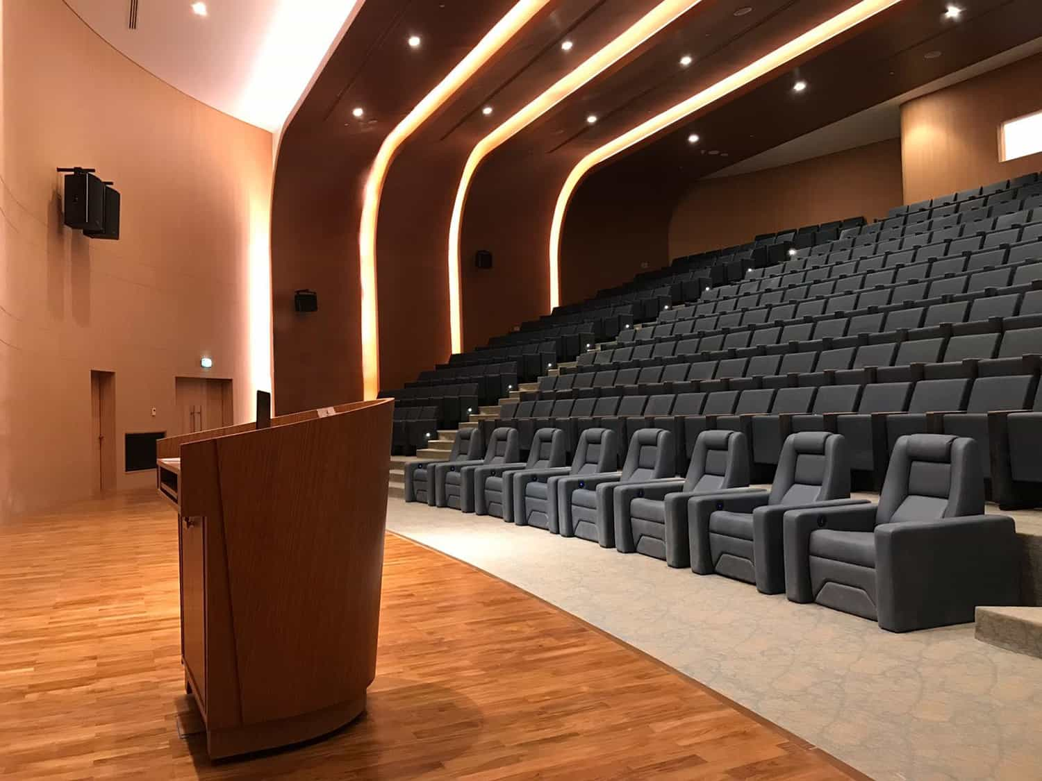 theatre seating for an auditorium