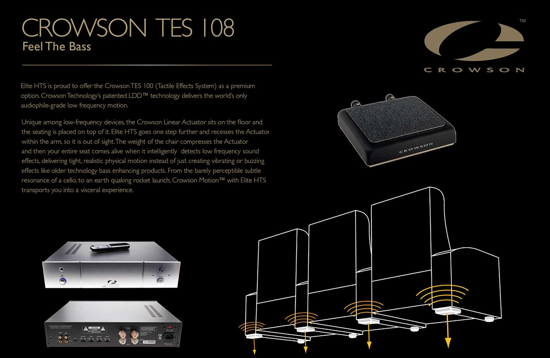 home theatre effects system Crowson tes 108 image
