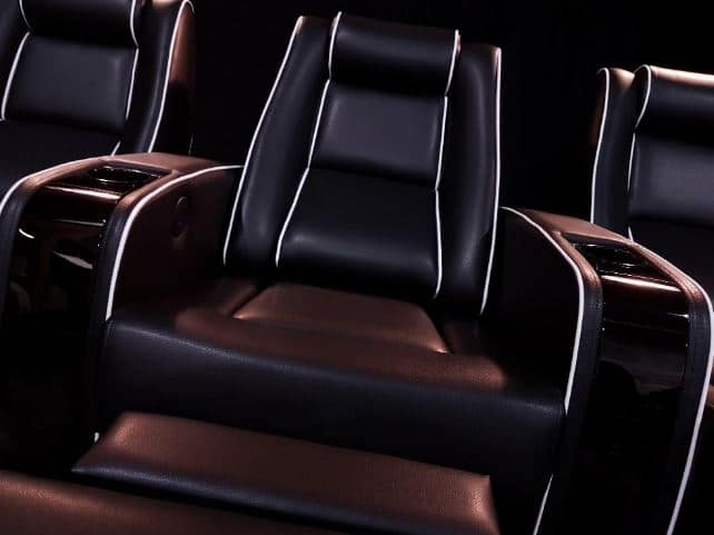 EHTS Theatre Chair with piping