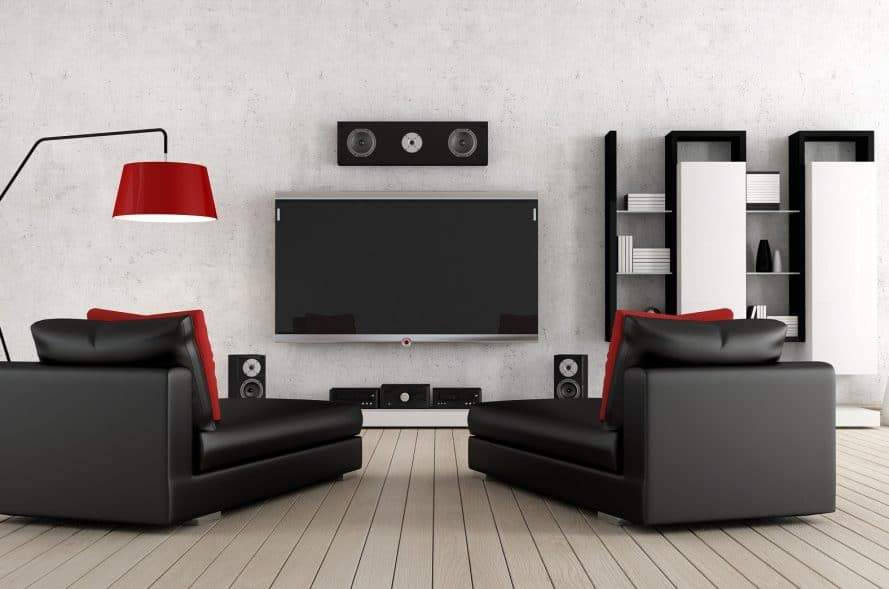 home theater seating contemporary design