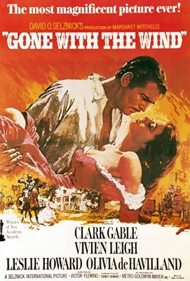 best movie posters gone with the wind