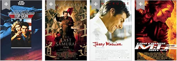 Best Tom Cruise Movies Posters