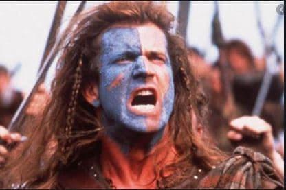best historical movies braveheart