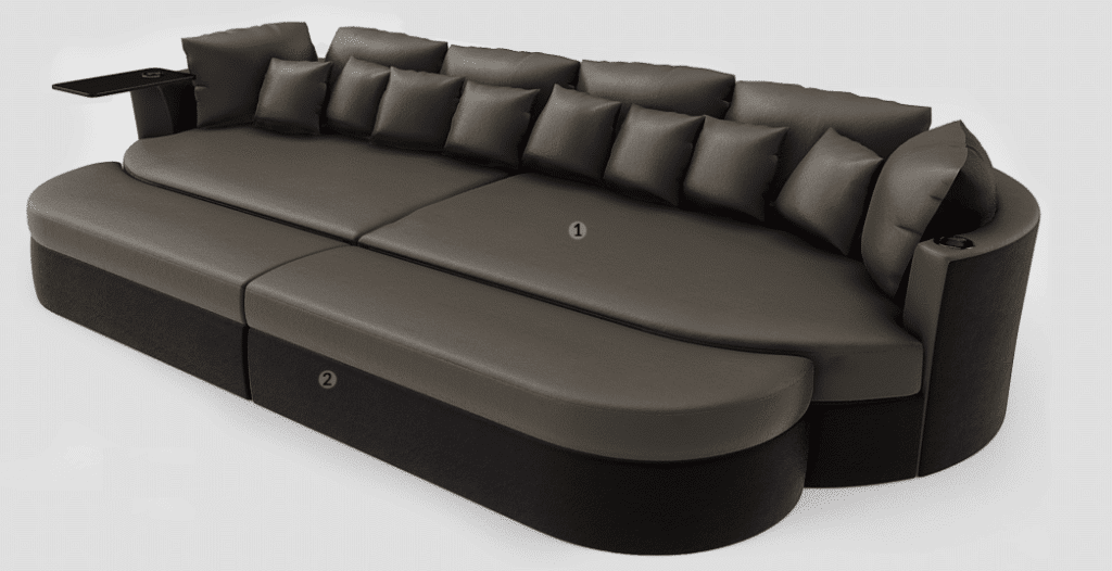 home theater sectional benefits design
